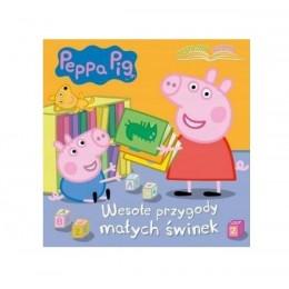 MSZ – Książeczka Świnka Peppa – wesołe przygody małych świnek – 74310