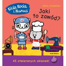 Media Rodzina – Książeczka z okienkami Kicia Kocia i Nunuś – Jaki to zawód? – 8511