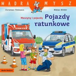Media Rodzina – Seria Mądra Mysz – Książeczka maszyny i pojazdy – Pojazdy ratownicze – 87125
