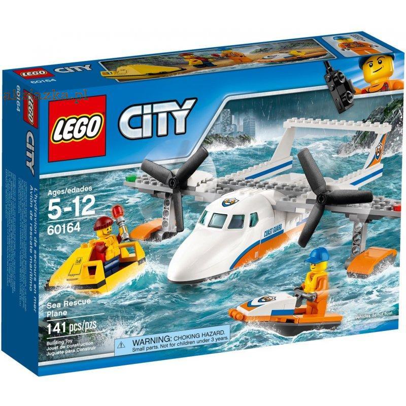 Klocki Lego City 60164 Hydroplan Ratowniczy Ze Skuterem Wodnym