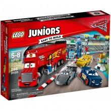 Klocki LEGO Juniors 10745 - Finałowy wyścig Florida 500 - Cars