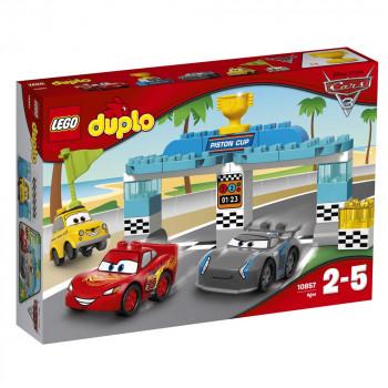 LEGO DUPLO 10857 Auta - Wyścig o Złoty Tłok