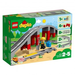 LEGO® DUPLO® 10872 Tory kolejowe i wiadukt