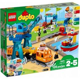 LEGO® DUPLO® 10875 Pociąg towarowy