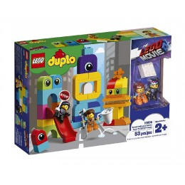 LEGO THE LEGO MOVIE 2 10895 Goście z planety Duplo u Emmeta i Lucy