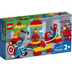 LEGO® DUPLO® Marvel 10921 Laboratorium superbohaterów