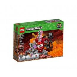 LEGO Minecraft 21139 Walka w Netherze