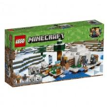 LEGO Minecraft 21142 Igloo niedźwiedzia polarnego
