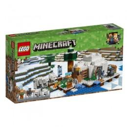 LEGO® Minecraft™ 21142 Igloo niedźwiedzia polarnego