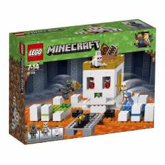 LEGO® Minecraft 21145™ Czaszkowa arena
