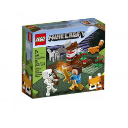 Klocki LEGO Minecraft 21162 Przygoda w tajdze