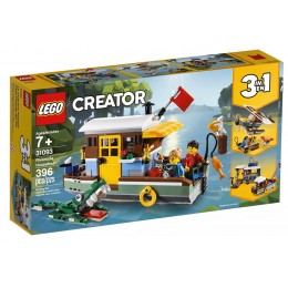 LEGO® Creator 31093 Łódź mieszkalna