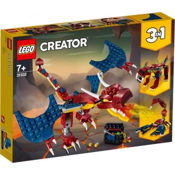 LEGO® Creator 31102 Smok ognia