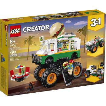 LEGO Creator 31104 Monster truck z burgerami