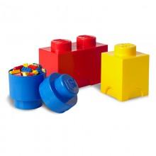 LEGO Pojemniki na zabawki - Zestaw trzech pojemników 4014