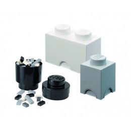 LEGO Pojemniki na zabawki - Zestaw trzech pojemników 4014 4591