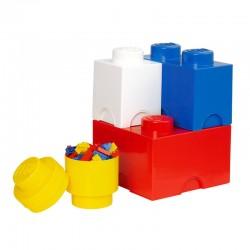 LEGO Pojemniki na zabawki - Zestaw czterech pojemników 4015