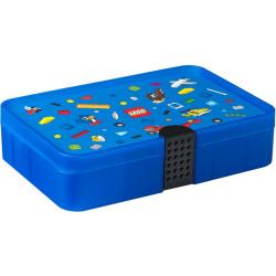 LEGO - Pudełko z przegródkami - Niebieski sorter Iconic na klocki 4084