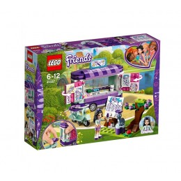 LEGO® Friends 41332 Stoisko z rysunkami Emmy