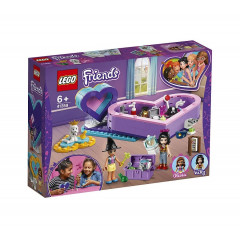 LEGO® Friends 41359 Pudełko w kształcie serca - Zestaw przyjaźni