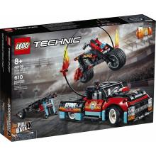 LEGO Technic 42106 Furgonetka i motocykl kaskaderski