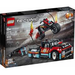 LEGO® Technic 42106 Furgonetka i motocykl kaskaderski