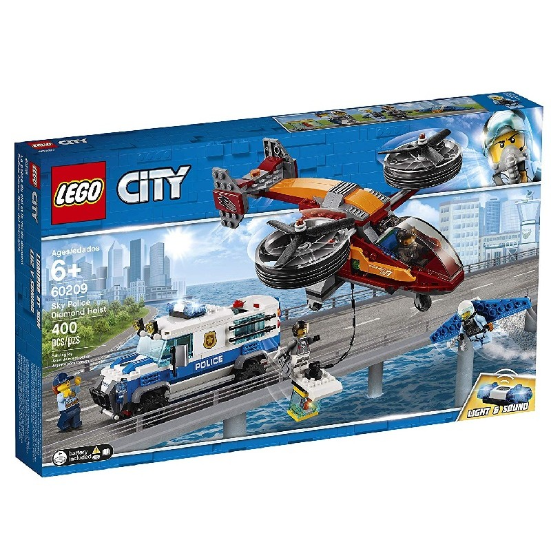 Lego City 60209 Rabunek Diamentów Sklep Zabawkowy Kimlandpl