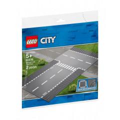 LEGO® City 60236 Płytki konstrukcyjne - Ulica i skrzyżowanie