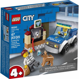 LEGO® City 60241 Oddział policyjny z psem