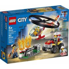 LEGO® City 60248 Helikopter strażacki leci na ratunek