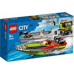 LEGO® City 60254 Transporter łodzi wyścigowej