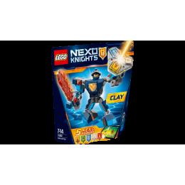 Klocki LEGO Nexo Knights 70362 Zbroja Clay'a