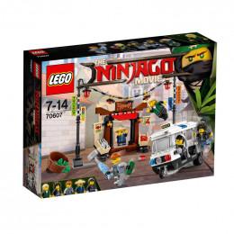 Klocki LEGO® NINJAGO® 70607 Miejski Pościg