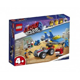 LEGO THE LEGO MOVIE 2 70821 Warsztat Emmeta I Benka