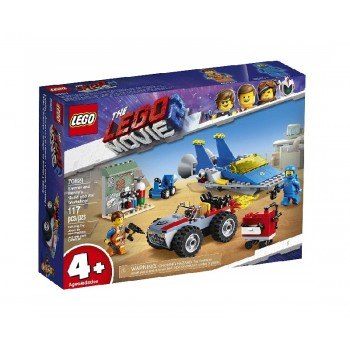 LEGO® THE LEGO® MOVIE 2™ 70821 Warsztat Emmeta I Benka