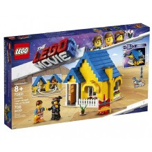 LEGO® THE LEGO® MOVIE 2™ 70831 Dom Emmeta/Rakieta ratunkowa
