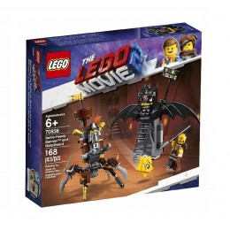 LEGO THE LEGO MOVIE 2 70836 Batman i Stalowobrody