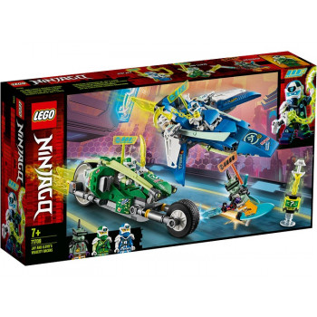 LEGO NINJAGO 71709 Wyścigówki Jaya i Lloyda