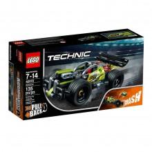LEGO® Technic 42072 Zielona wyścigówka
