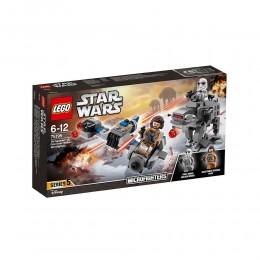 LEGO® Star Wars™ 75195 Ski Speeder i Maszyna Krocząca