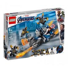 LEGO 76123 Avengers - Kapitan Ameryka: Atak Outriderów