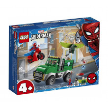 LEGO Juniors Marvel 76147 Napad Sępa na furgonetkę