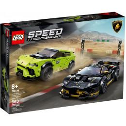 LEGO® Speed Champions 76899 Lamborghini Urus ST-X i Lamborghini Huracan Super Trofeo EVO