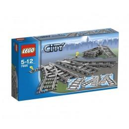 LEGO® City 7895 Pociągi - Zwrotnice kolejowe