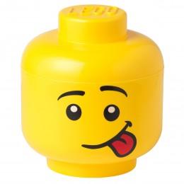 LEGO Pojemnik - Głowa - Chłopiec Silly L duża