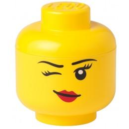 LEGO Pojemnik - Głowa - Dziewczynka Whinky L duża