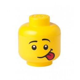 LEGO Pojemnik - Głowa - Chłopiec Silly S mała