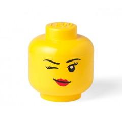 LEGO Pojemnik - Głowa - Dziewczynka Whinky S mała