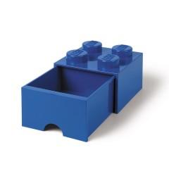 LEGO Pojemnik z szufladą 4 na zabawki 25cm kolor Niebieski