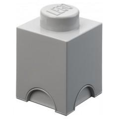 LEGO Pojemnik 1 na zabawki 12,5 x 12,5 cm Szary